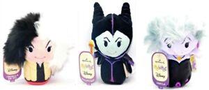 Hallmark-Disney-Villains-Cruella-De-Vil-Maleficent-Ursula-Itty-Bittys-Bitty-Set