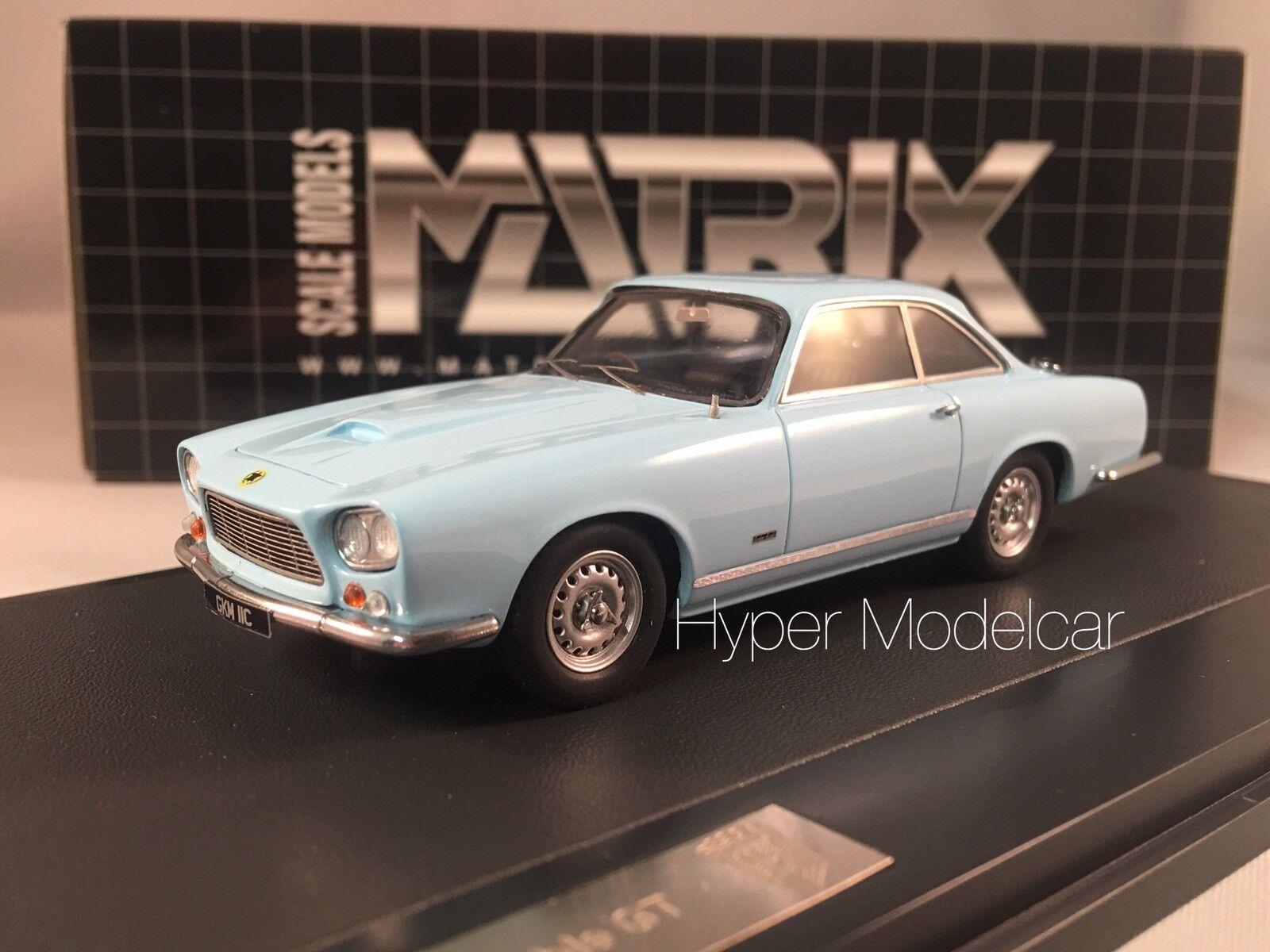 MATRIX Scale Models 1 43 gordon keeble GT 1960 Light bluee mx40703-011