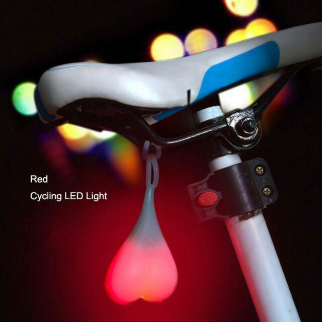 New-LED-Heart-Ball-Nightlight-Lamp-Cycling-Warning-Bicycle-Bike-Tail-Light