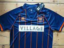 Blackpool Fc Fútbol Camisa Tamaño (L) Adulto lejos de Fútbol Jersey BNWT S/S 2015/16