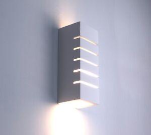 applique moderno rettangolare gesso bianco camera da letto salone ...