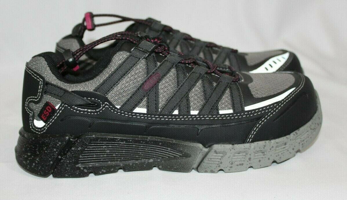 Keen Womens Asheville Aluminum Toe ESD Work Hiking shoes Style 1017073 SZ 7M NEW