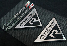 Roadruns Emblem Aluminum Badge SET-2 For All Type Cars