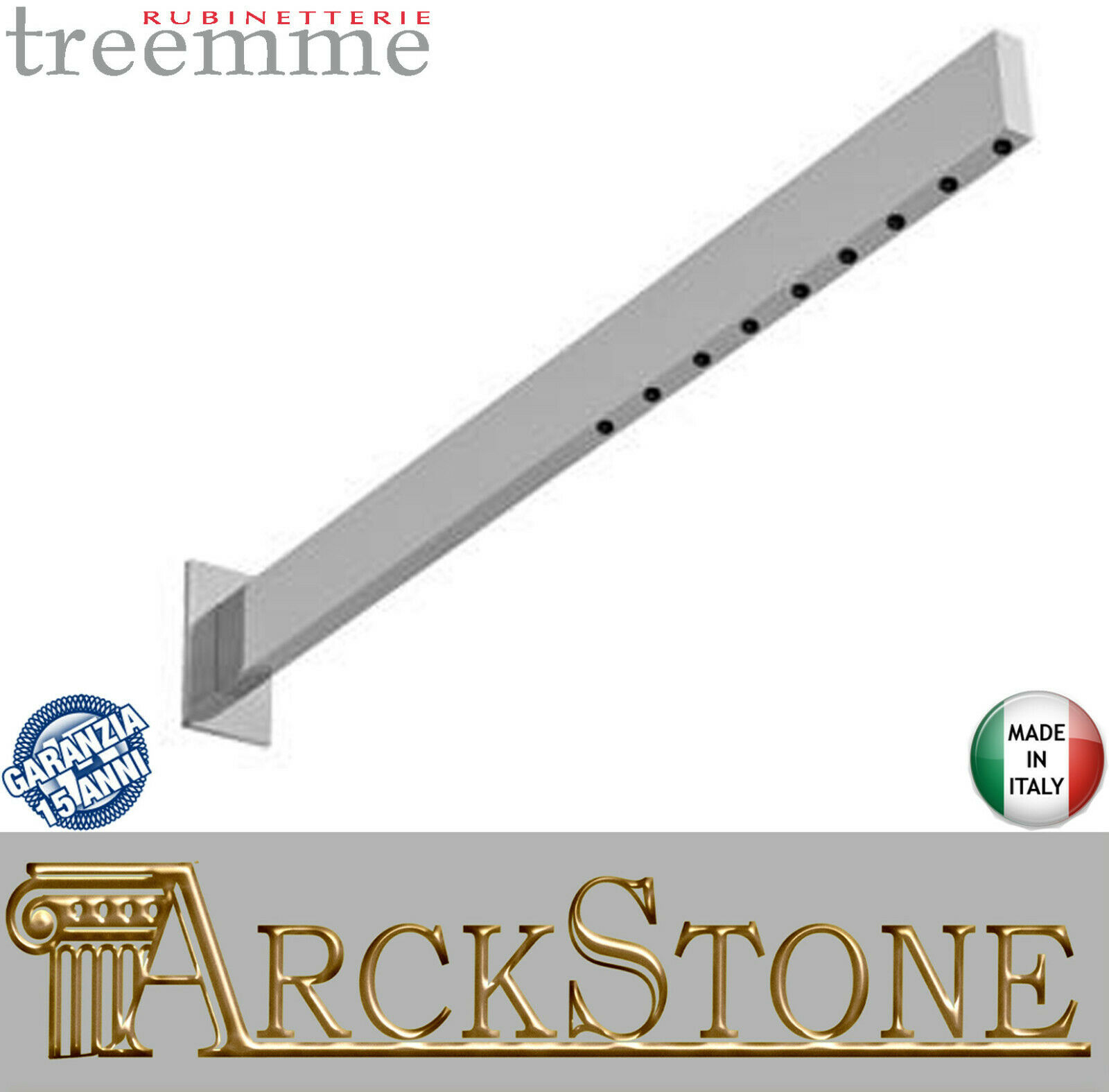 Elemento Per Soffione Con Areatore Rubinetterie Treemme Time - Time_out Metallo