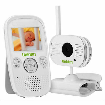 "UNIDEN VIDEO BABY MONITOR 2.3"" SCREEN TEMPERATURE DISPLAY TALK BACK BW3001"