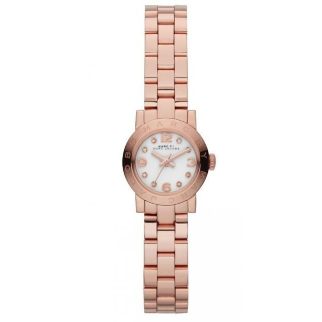 Marc Jacobs Orologio Watch Woman Uhr Donna Mini Amy MBM3227 Oro Rosa Acciaio New