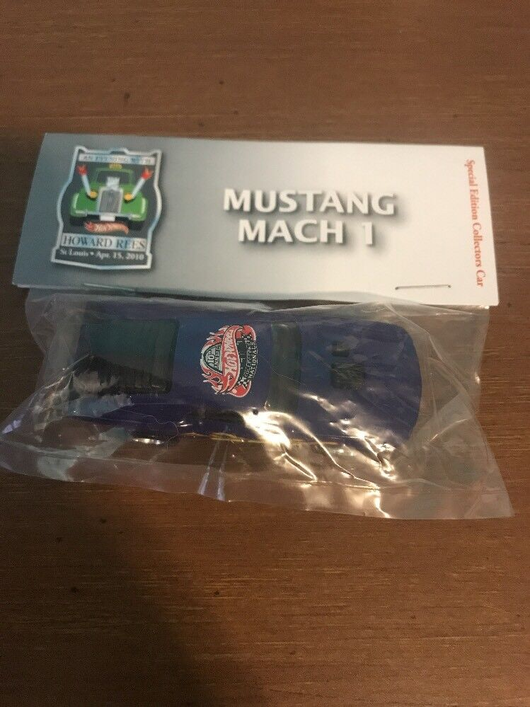 Hot Wheels mustang mach 1 10th annual Collectors Nationals Dark Purple