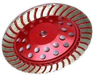 "7/"" SUPER Z #18//20 COARSE BOND Diamond Cup Wheel Hard Concrete Masonry Grind-BEST"