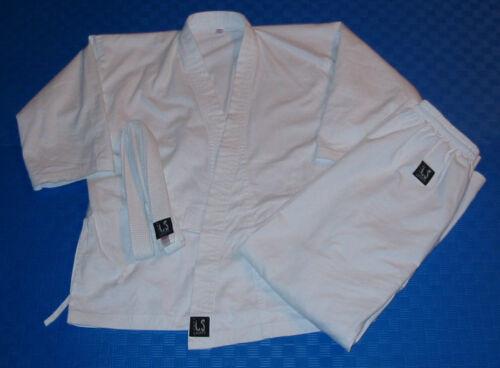 8oz Weiss! Karate-Anzug // Gi! 130 cm! NEU /& OVP!