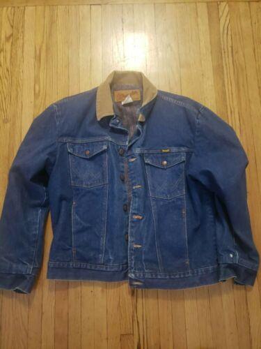Wrangler Cowboy Cut Unlined Denim Jacket for Men,