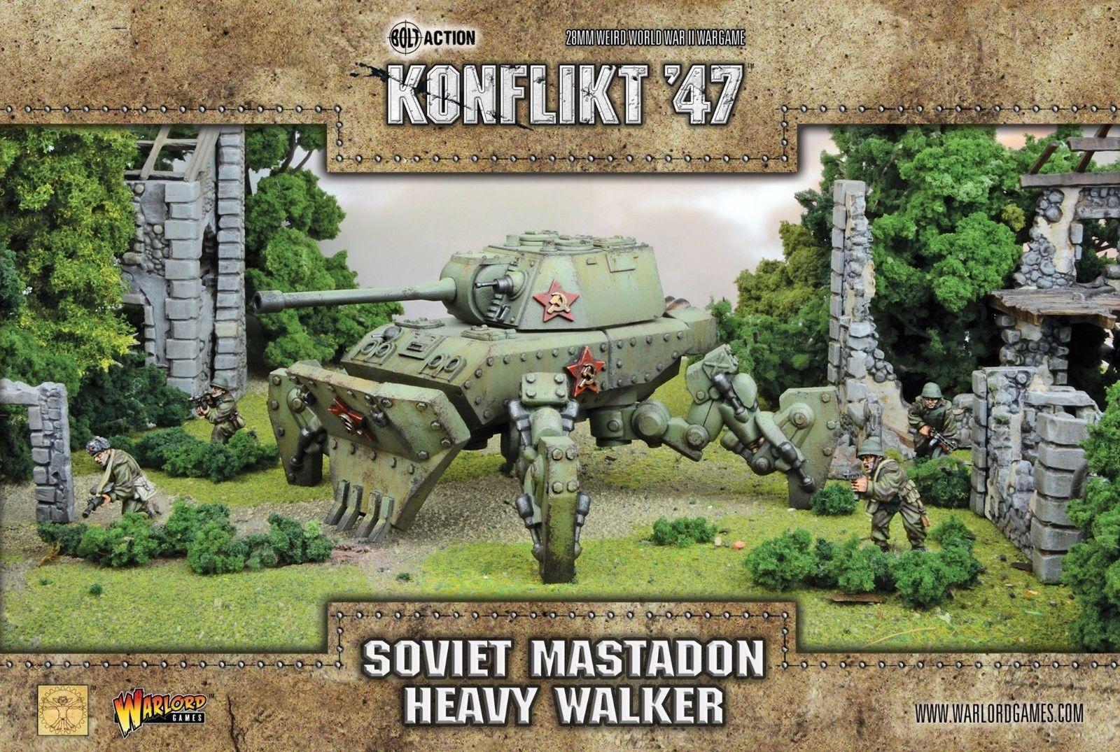 Soviet Mastadon Heavy Walker Konflikt '47 Warlord Games