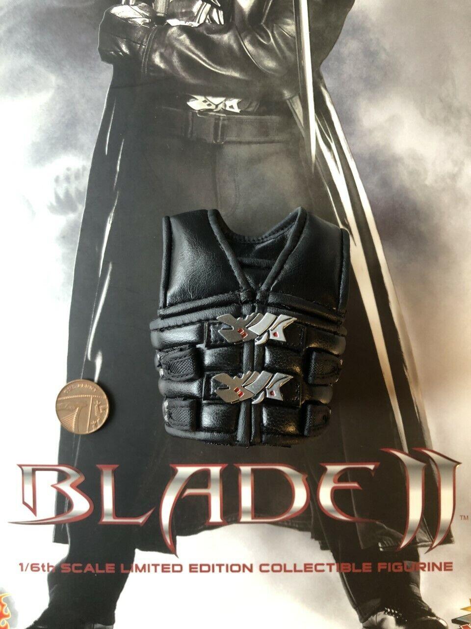 II Lama caliente giocattoli Lama MMS113 nera in pelle Gilet  Loose SCALA 1 6th  negozio all'ingrosso