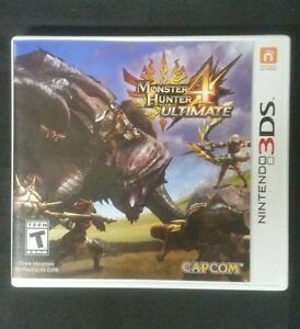 Replacement case no game monster hunter 4 ultimate 3ds box image is loading replacement case no game monster hunter 4 ultimate voltagebd Choice Image