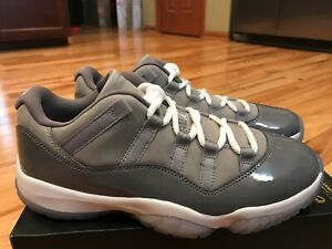 b1dab95dfed6 Nike Air Jordan 11 Retro Low Cool Grey Gunsmoke 528895 003 Size 7.5 ...