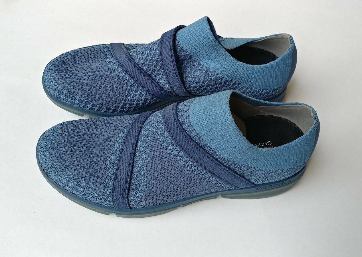 Women's Merrell ZOE SOJOUM KNIT 02 BERING SEA BLUE WITH BLUE STRAP Shoes size 7