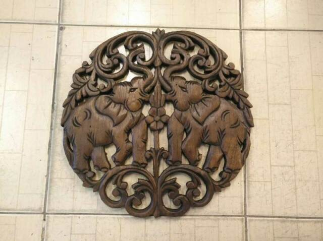Buy Wood Panel Carved Wall Decor Art Home Décor Online Ebay