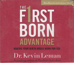 Dr-Kevin-Leman-First-F1rst-Born-Advantage-4CD-Audio-Book-NEW-Making-Birth-Work