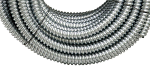 100 ft X 1//2 in Flexible Steel Conduit AFC Cable Systems Wire Metal Raceway