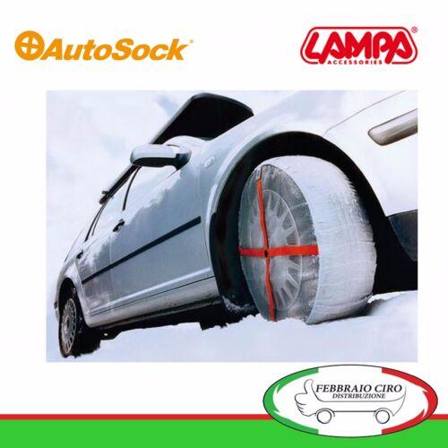 306500080 Coppia Calze Neve Autosock furgoni e SUV Taglia 685 Gomme 225//40R19