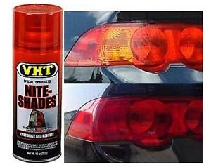 Redout Taillight Tint Tail Head Light Tint Spray Lens
