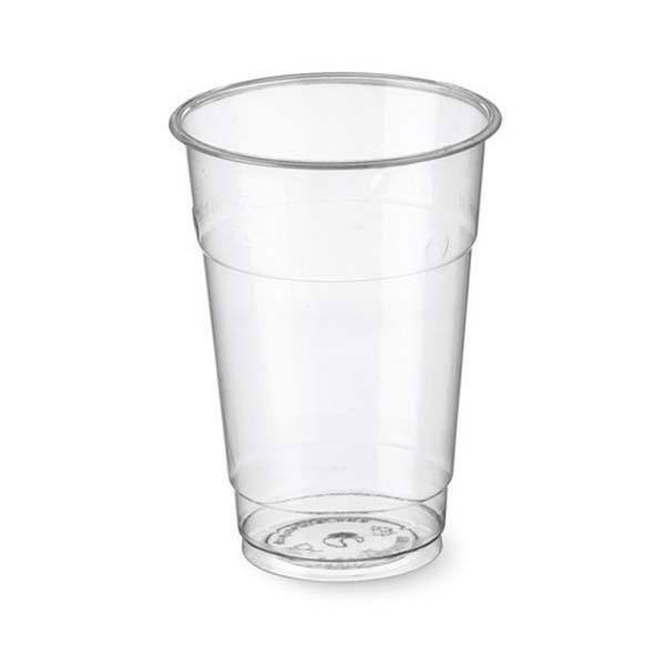 Bicchieri Kristal in Plastica Trasparente Birra Monouso 200 cc 50 pz.
