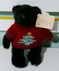 Russ-Bears-From-the-Past-Fully-Jointed-Teddy-Bear-w-Swing-Tag-17cm-Tall