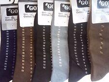 12 pairs Mens Cotton Socks, Dress Casual Autumn Summer High Quality Socks Mens