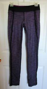 9089452dee5788 Lululemon Size 4 Forme Slub Denim Barre Pulse Skinny Tender Violet ...