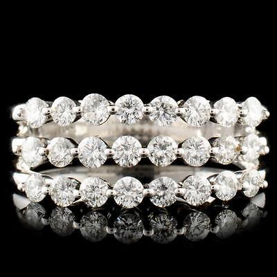 12. 14K Gold 1.28ctw Diamond Ring Lot 12