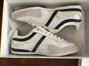 Hugo-Orange-Boss-034-Seamon-White-034-Tennis-Shoes100-Authentic-8-225