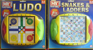 Great for Travel Board & Traditional Games My Traditional Games Ludo or Snakes & Ladders Board Game