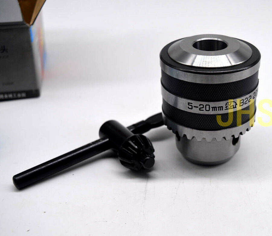 B22 Arbor MT2 to B22 Drill Chuck Arbor Adapter with Tang End Morse Taper 2