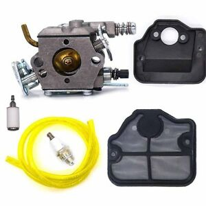 CARBURETOR-CARB-AIR-FILTER-Fuel-LINE-FOR-HUSQVARNA-CHAINSAW-136-137-141-142