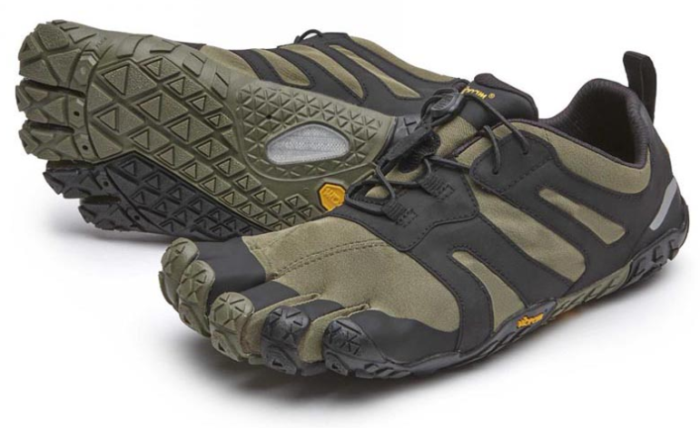 Vibram Fivefingers V-Trail 2.0 Ivy Black Men's sizes 38-50 NEW