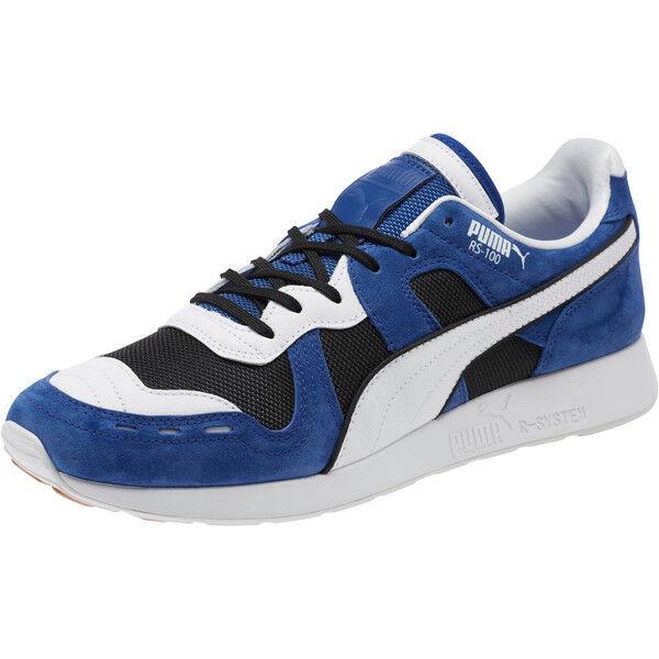 Puma RS 100 snbk   368264 01 Azul blancoo Negro Hombre Talla 8 - 13