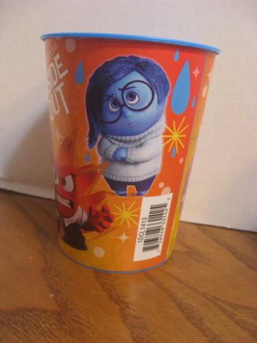 Blue Plastic 16 oz Hallmark 2015 Inside Out Movie Disney// Pixar Cup