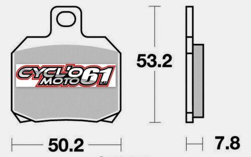 Plaquettes de frein arrière Scooter Piaggio X8 125 2004 S1110