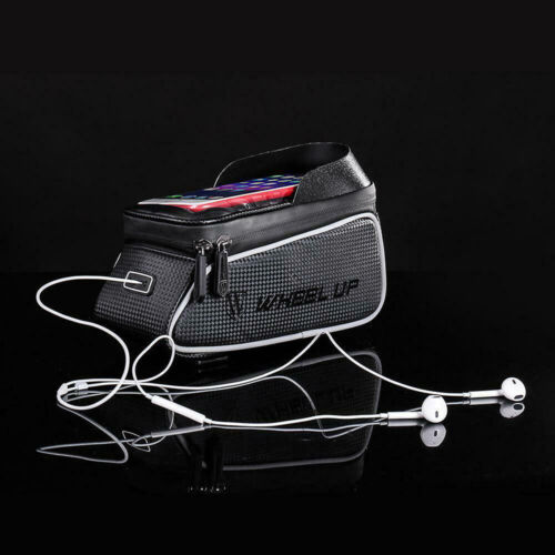 Waterproof Bike Bicycle Front Tube Pouch Bag Frame Pannier Mobile Phone Holder
