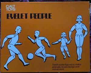 Eyelet-People-Vintage-Craft-Game-Galt-Toys-Made-in-England-1970-039-s