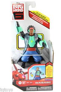Big-Hero-6-15cm-Wasabi-Figure-BNIB-Genuine-Bandai-Product-38618