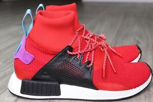 timeless design 312e6 2a9d2 Details about New Adidas NMD XR1 Winter Adventure Primeknit PK Boost Red  Scarlet Men's 9.5
