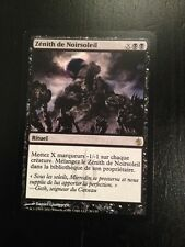 MTG MAGIC MIRRODIN BESIEGED BLACK SUN'S ZENITH (FRENCH ZENITH DE NOIRSOLEIL) NM