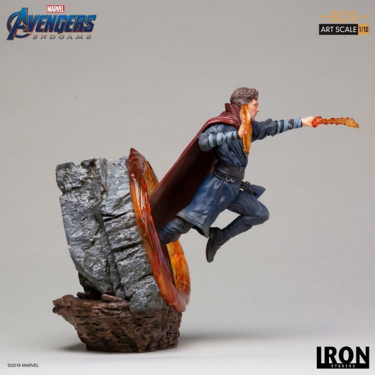 1  10 Iron Studios Avengers 4 MARCASM18419 -10 Dr. singular samling Gips leksaker