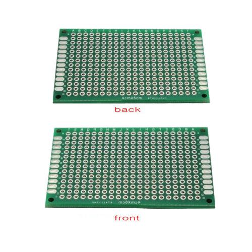 10pcs Double-side Protoboard Circuit Prototype DIY PCB Board 4x6cm