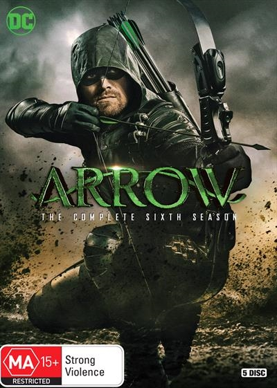 Arrow : Season 6 (DVD, 5-Disc Set) NEW