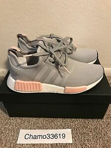 4ee20e30789e3 Adidas NMD R1 Women Clear Onix Vapour Pink - ALL SIZES - with ...