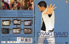 Craig David - DVD - Off The Hook - Live At Wembley - DVD von 2001 - Neuwertig !