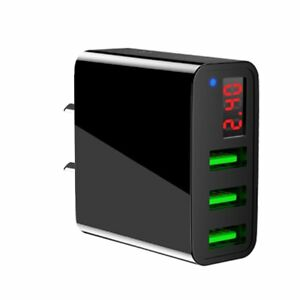Universal-3-Port-USB-5V-3A-Wall-Home-Travel-AC-Fast-Charger-Adapter-US-EU-Plug