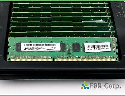 Micron 4GB MT18KSF51272AZ-1G6K1 2Rx8 PC3L 12800E DDR3 1600MHz ECC DIMM