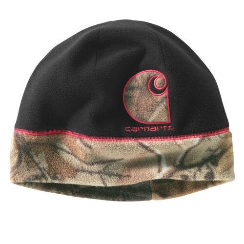 Carhartt for Women Gretna Fleece Revesible hat BLACK free ship in US C16-2241